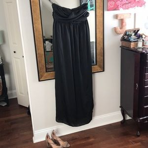 Merona strapless black dress